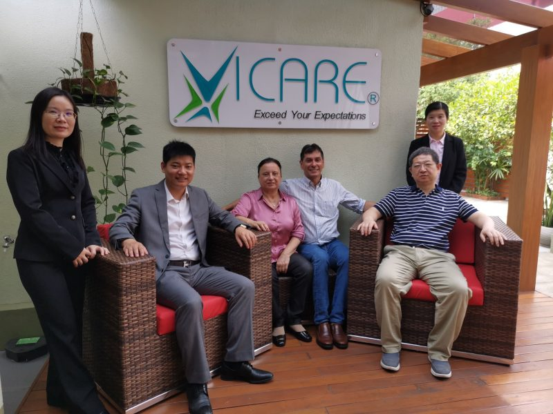 VICARE recebe equipe da Victor Medical Instruments e do Xiangya Hospital 4