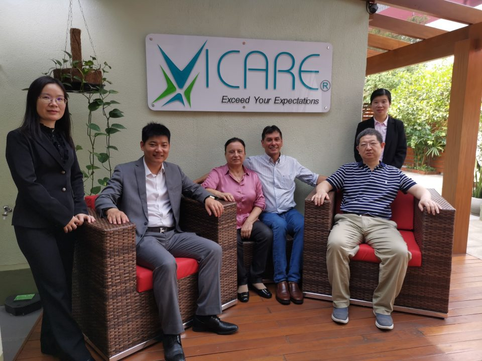 VICARE recebe equipe da Victor Medical Instruments e do Xiangya Hospital 8